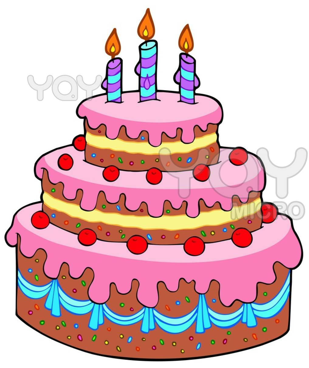 Cute Cartoon Birthday Cakes Images & Pictures - Becuo